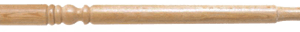 Wood Gun Barrel Spindles 900mm