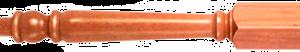 Wood Victorian Newel Posts 120mm